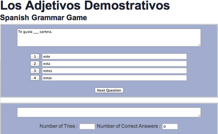 Spanish course A1